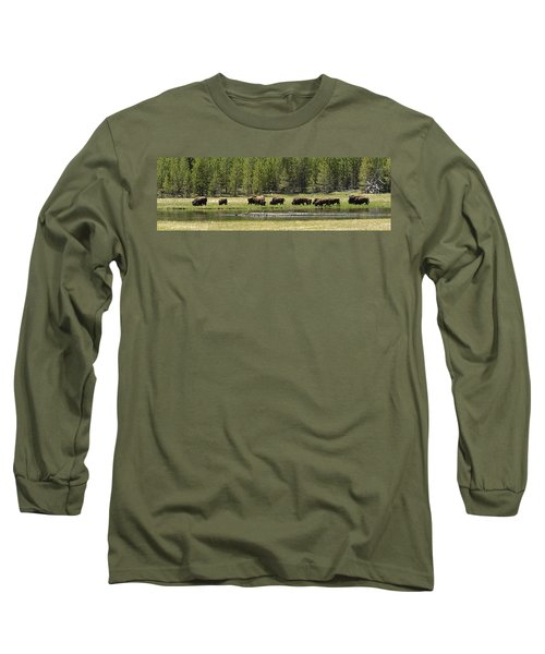 Lazy Morning Long Sleeve T-Shirt