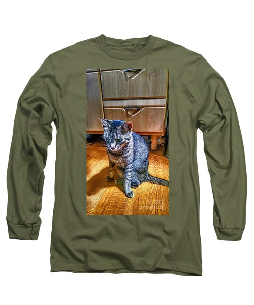 Le Chat Gris Long Sleeve T-Shirt
