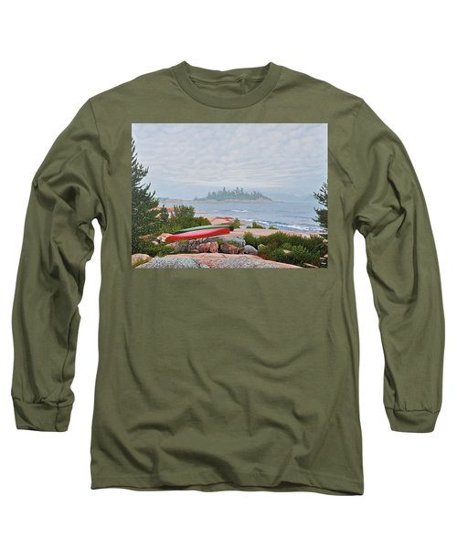Le Hayes Island Long Sleeve T-Shirt by Kenneth M Kirsch