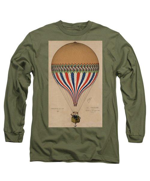 Le Tricolore Long Sleeve T-Shirt