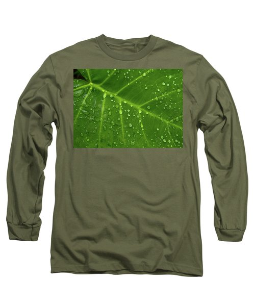 Leaf Drops Long Sleeve T-Shirt