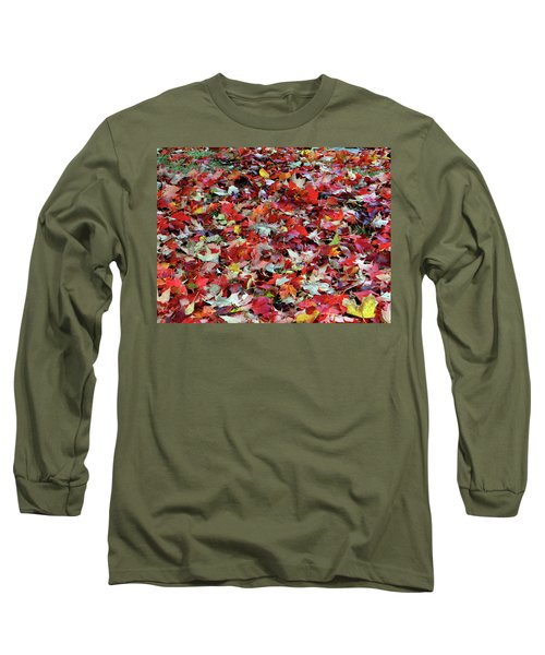 Leaf Pile Long Sleeve T-Shirt