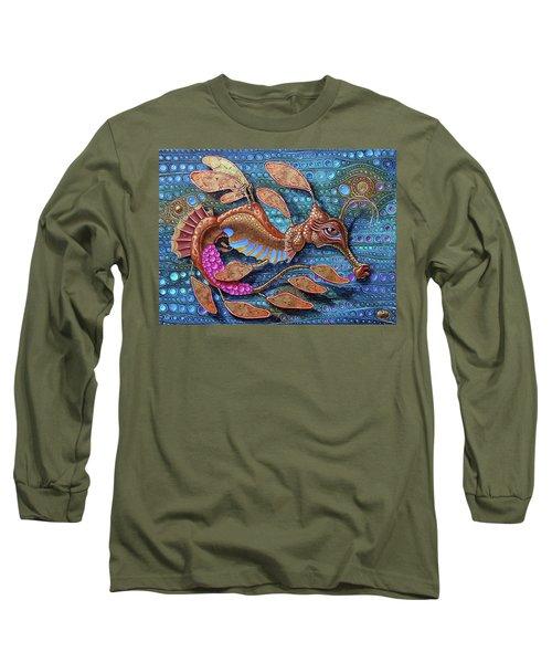 Leafy Seadragon Long Sleeve T-Shirt