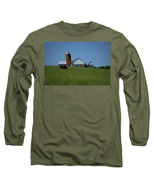 Long Sleeve T-Shirt featuring the photograph Lean Beef by Robert Geary