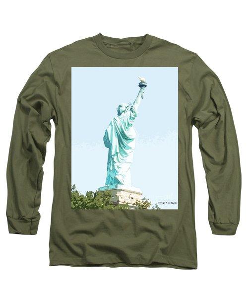 Leap Of Liberty Long Sleeve T-Shirt