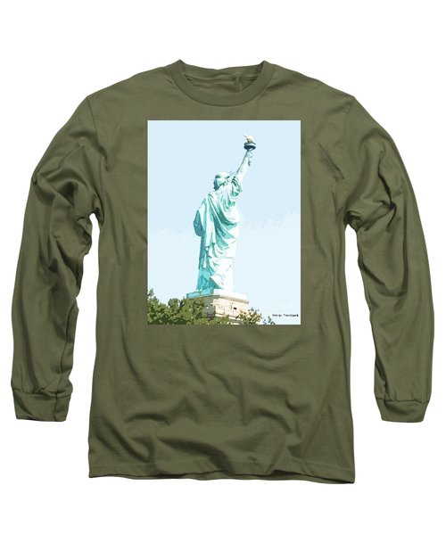 Leap Of Liberty Long Sleeve T-Shirt