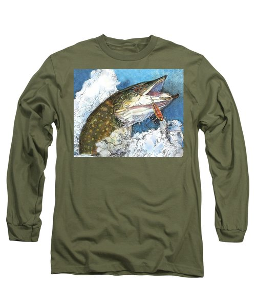 leaping Pike Long Sleeve T-Shirt