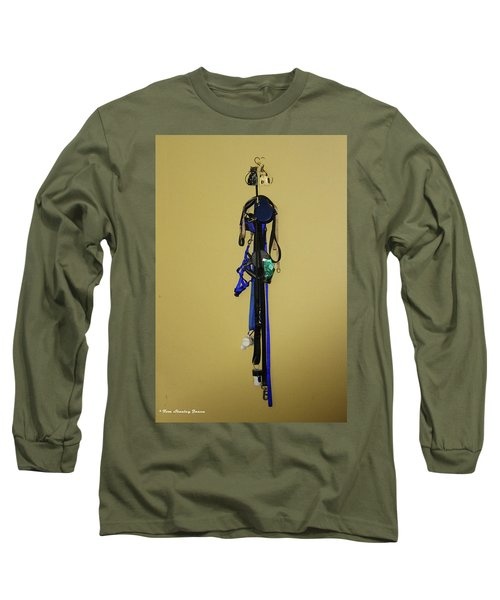 Leash Lady Just Hanging On The Wall Long Sleeve T-Shirt