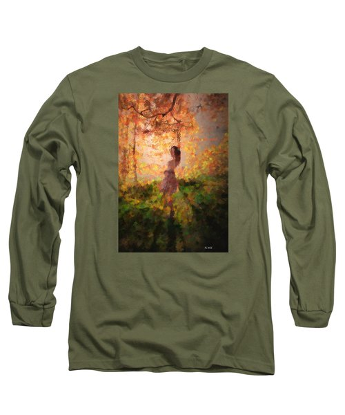 Long Sleeve T-Shirt featuring the photograph Leave The Past by Rose-Maries Pictures