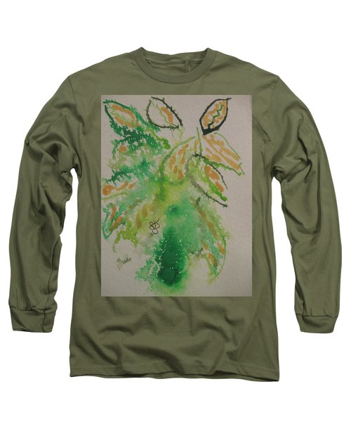 Leaves Long Sleeve T-Shirt by AJ Brown