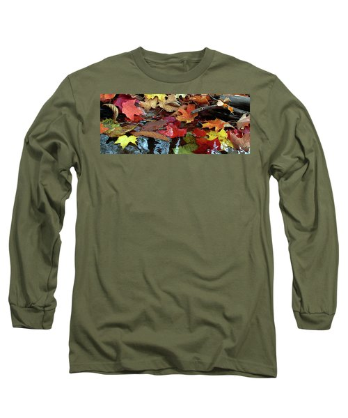 Leaves Of Color Long Sleeve T-Shirt