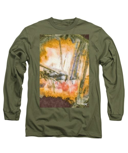 Leaving The Woods Long Sleeve T-Shirt by William Wyckoff