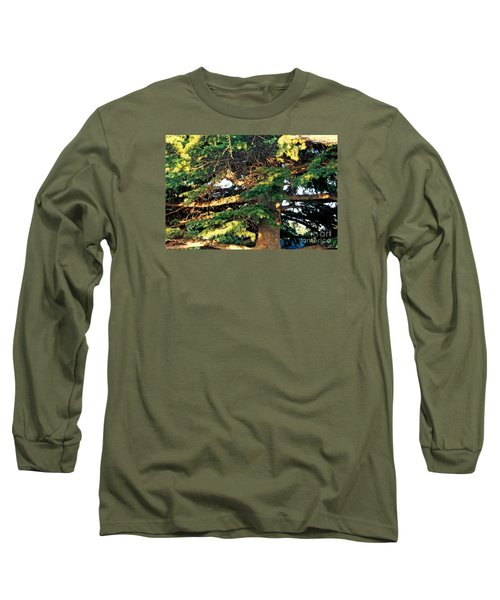 Lebanese Cedar Long Sleeve T-Shirt