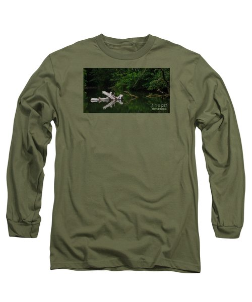 Long Sleeve T-Shirt featuring the photograph Left Behind by Pamela Blizzard