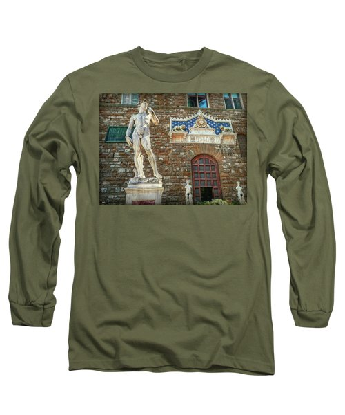 Long Sleeve T-Shirt featuring the photograph Legal Nudity by Hanny Heim