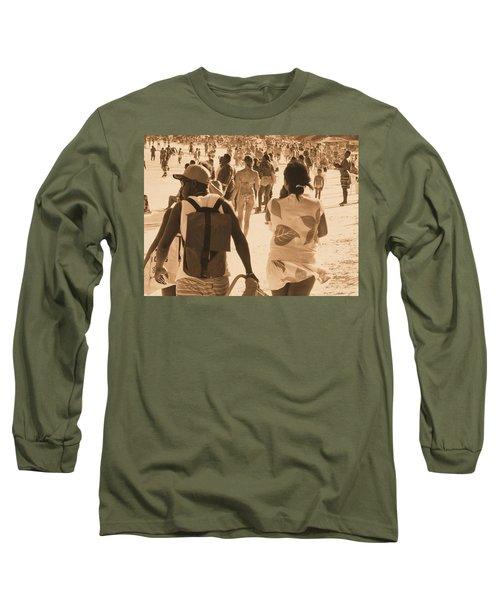 Long Sleeve T-Shirt featuring the photograph Legion by Beto Machado