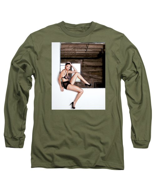 Legs II Long Sleeve T-Shirt by Gregory Worsham