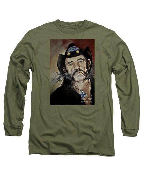 Lemmy Kilmister Motorhead Long Sleeve T-Shirt