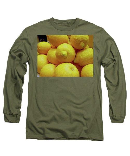 Lemon Squeeze Long Sleeve T-Shirt