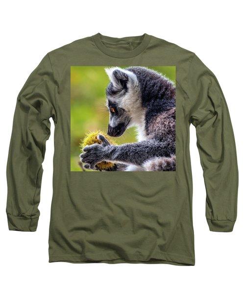 Lemur And Sweet Chestnut Long Sleeve T-Shirt