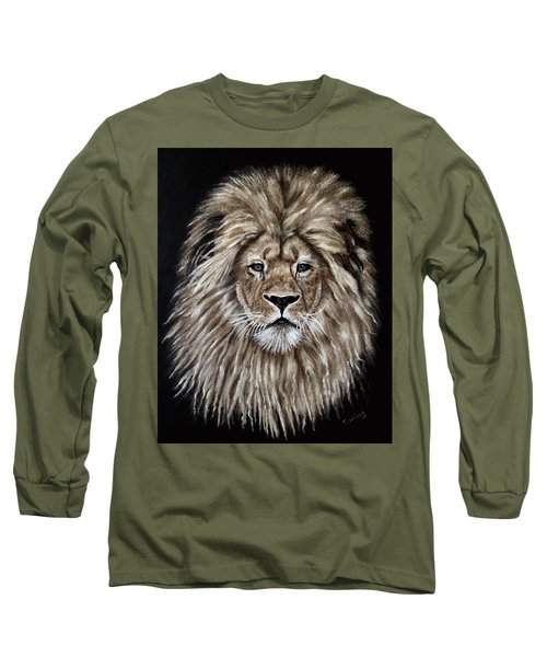 Leonardo Long Sleeve T-Shirt by Teresa Wing