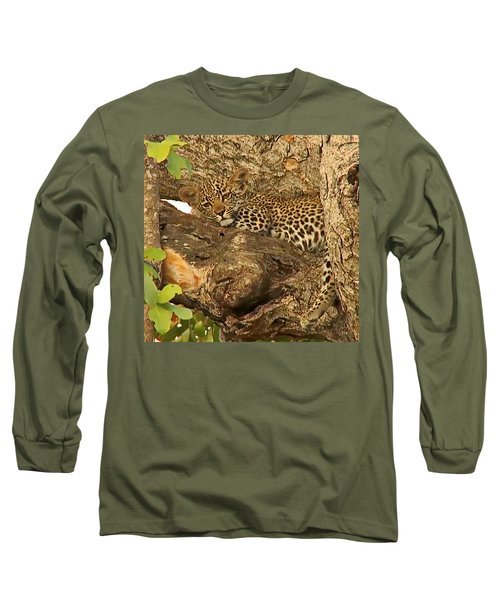 Leopard Cub Long Sleeve T-Shirt