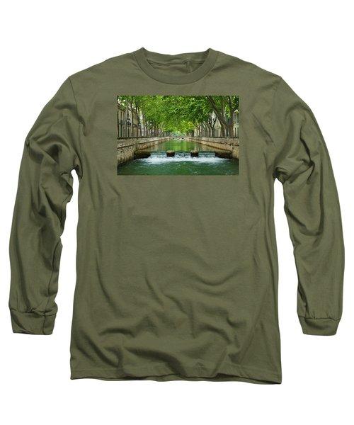 Les Quais De La Fontaine Long Sleeve T-Shirt