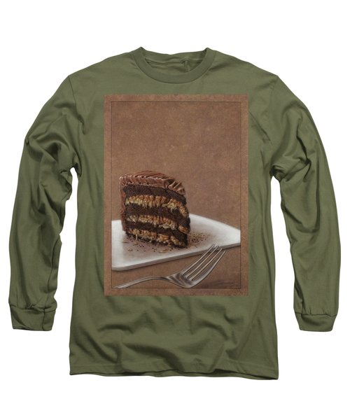 Let Us Eat Cake Long Sleeve T-Shirt