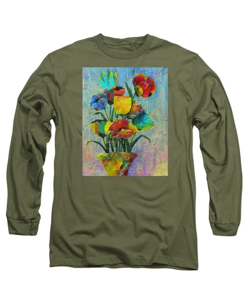 Let Your Individualism Stand Out Long Sleeve T-Shirt by Terry Honstead