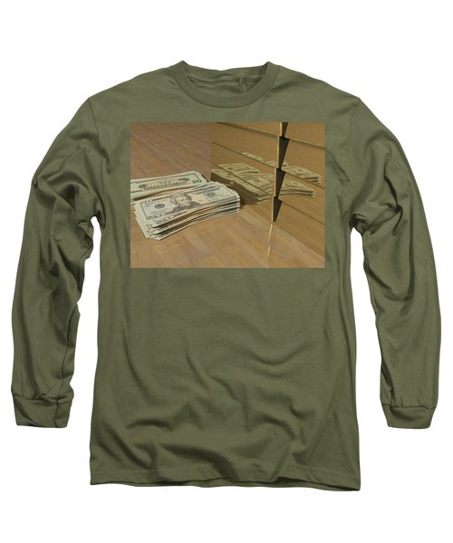 Level One Money Manifestation  Long Sleeve T-Shirt