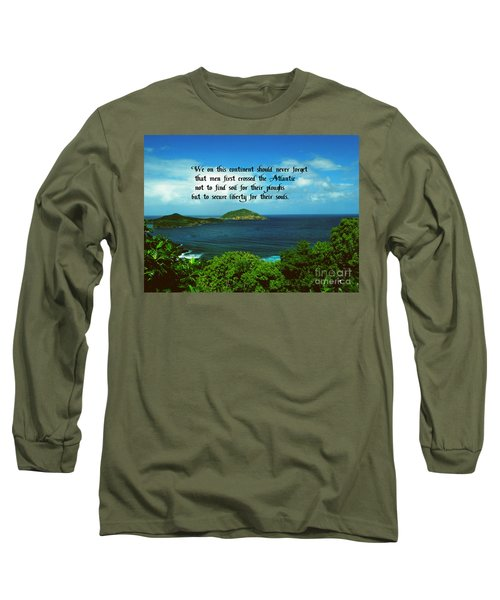 Long Sleeve T-Shirt featuring the photograph Liberty by Gary Wonning