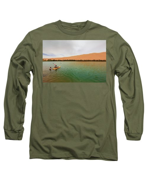 Libyan Oasis Long Sleeve T-Shirt