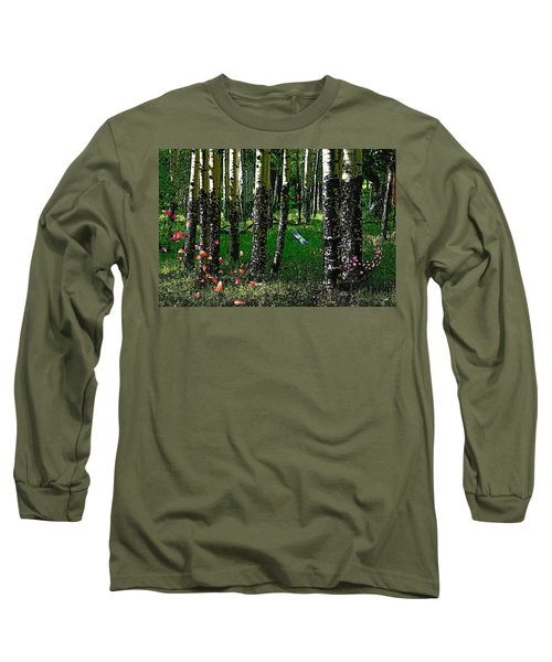 Life Among The Aspens Long Sleeve T-Shirt