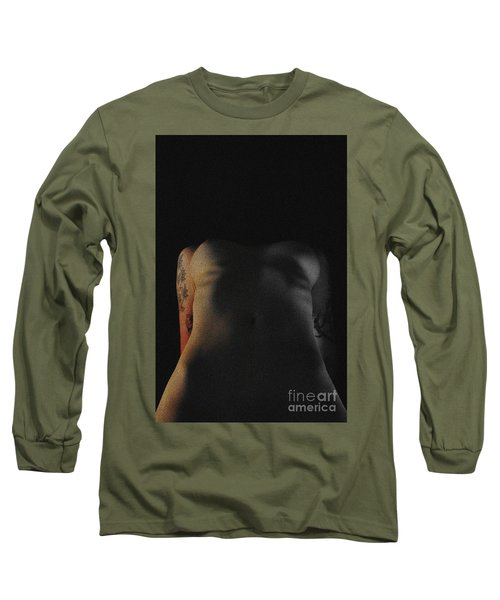 Life And Death Long Sleeve T-Shirt by Robert WK Clark