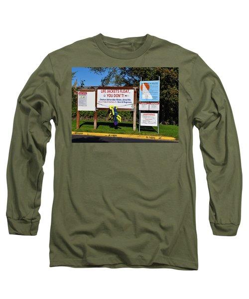 Life Jackets Float Long Sleeve T-Shirt
