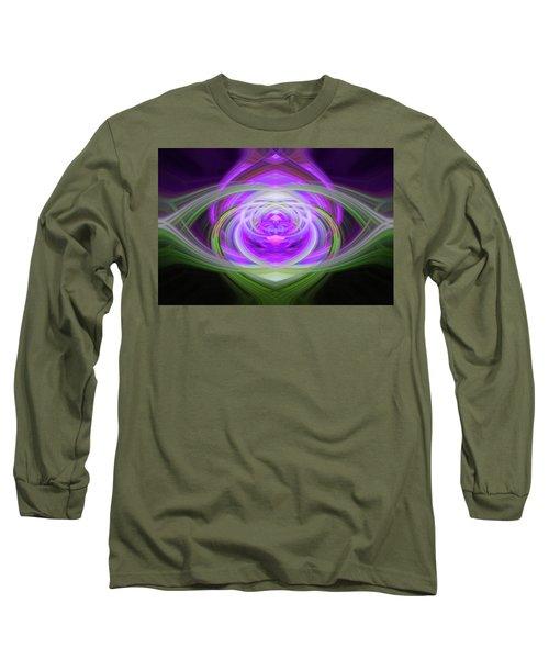 Light Abstract 3 Long Sleeve T-Shirt
