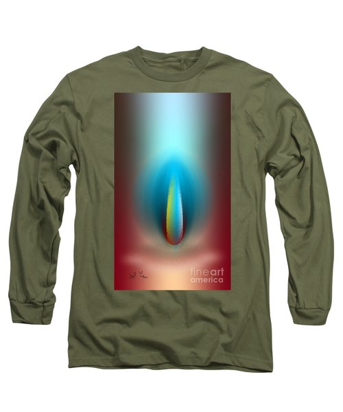 Light And Secrets Long Sleeve T-Shirt by Leo Symon