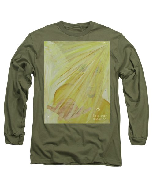 Light Of God Enfold Me Long Sleeve T-Shirt