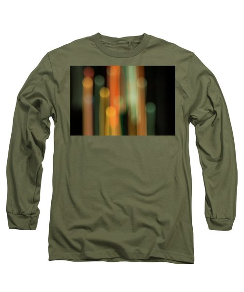 Long Sleeve T-Shirt featuring the photograph Light Painting No. 1 by Shara Weber