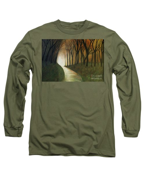 Light The Path Long Sleeve T-Shirt by Christy Saunders Church