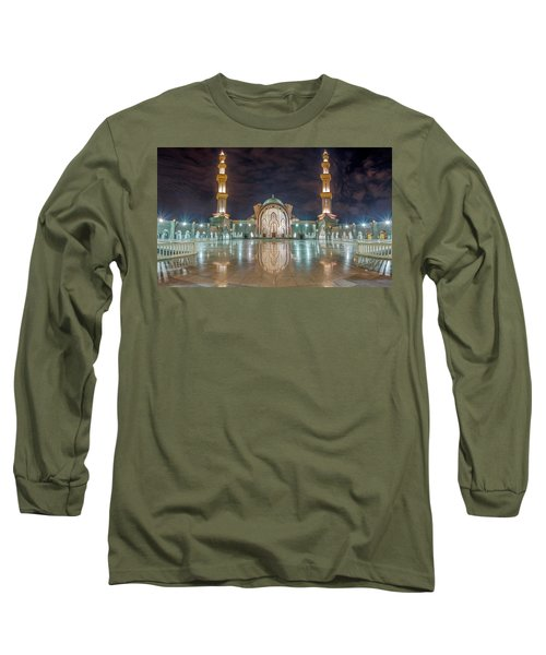 Lighted Federal Territory Mosque  Long Sleeve T-Shirt