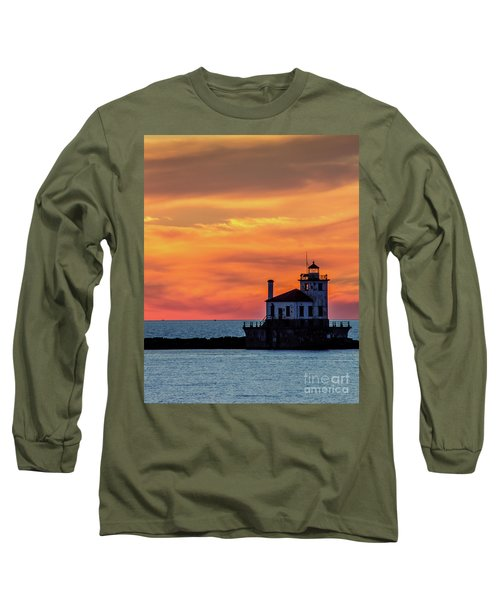 Lighthouse Silhouette Long Sleeve T-Shirt
