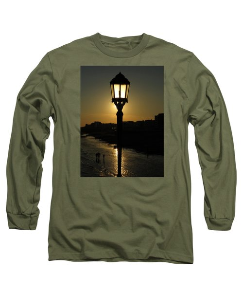 Lighting Up The Beach Long Sleeve T-Shirt