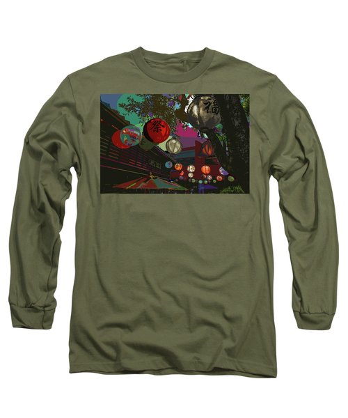 lights are on in little Tokyo Long Sleeve T-Shirt