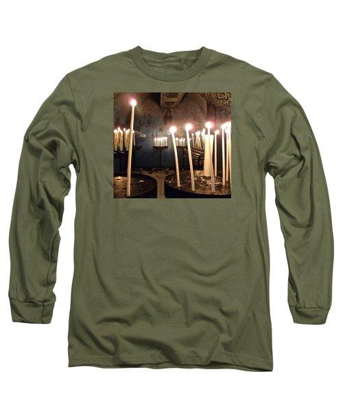 Lights Of Hope Long Sleeve T-Shirt by Amelia Racca