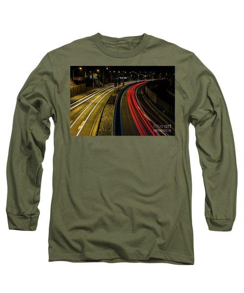 Lightstreams In Schwaebisch Gmuend Long Sleeve T-Shirt