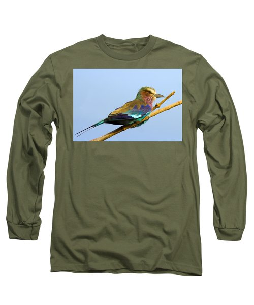 Lilac-breasted Roller Long Sleeve T-Shirt