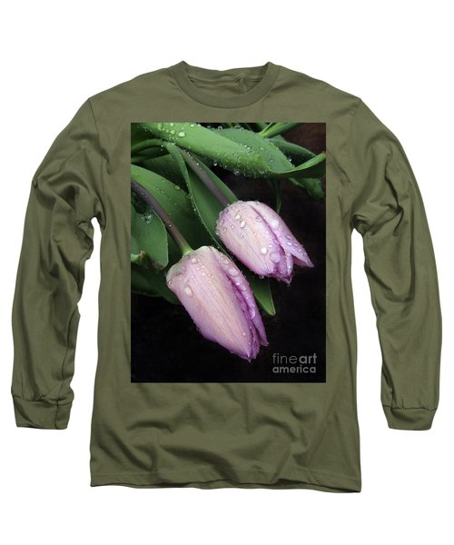 Lilac Drops Long Sleeve T-Shirt