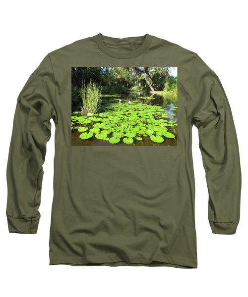 Lilies Of Bok Gardens Long Sleeve T-Shirt