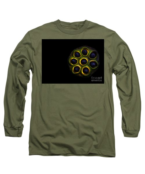 Lilly Pad Seed Pod Long Sleeve T-Shirt